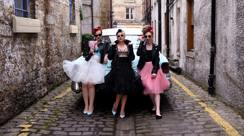 pin up girls edinburgh scotland