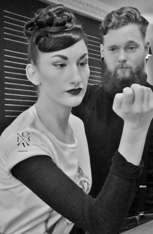 lipstick lashes and locks edinburgh rockabilly salon scotland
