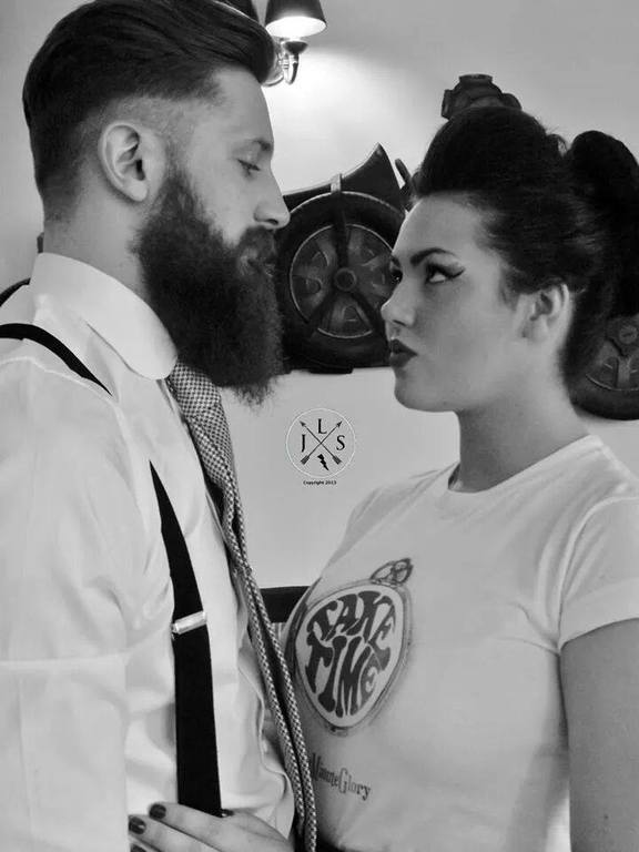lipstick lashes and locks edinburgh rockabilly wedding hair and make up parlour