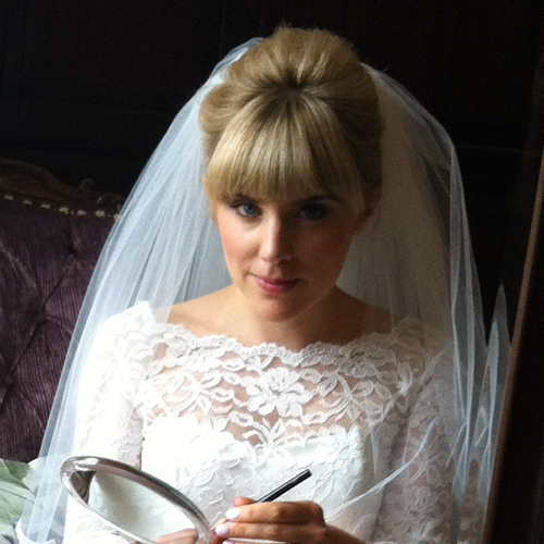 Natural wedding at Lipstick Lashes & Locks Edinburgh Hairdressers