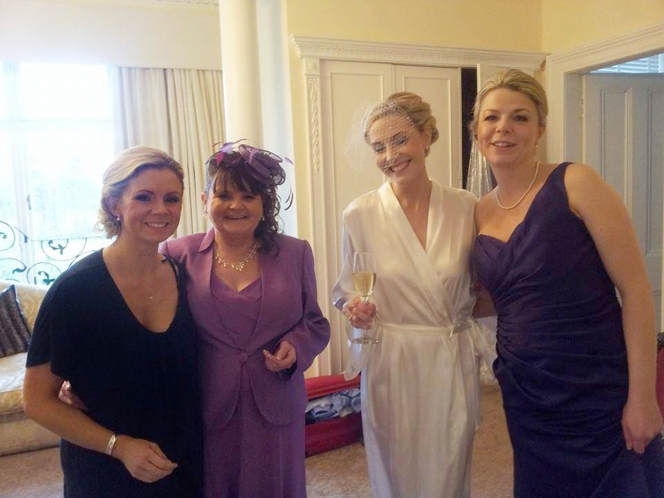 Mother of the brides hair and make-up