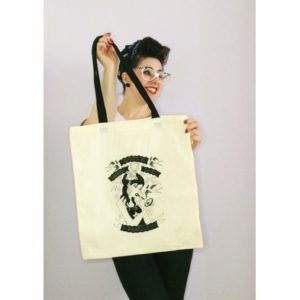 vicky with bag