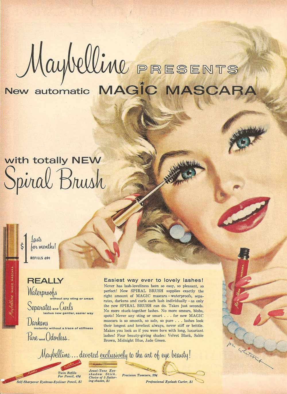 Magic Makeup Advert