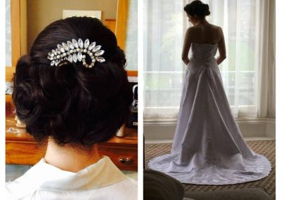 Elegant wedding Hair Edinburgh