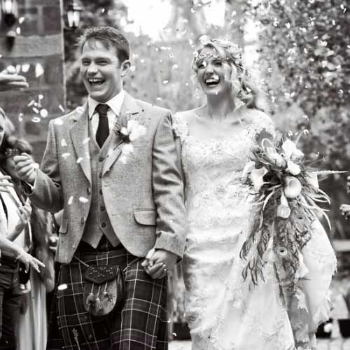 Scottish Wedding Day