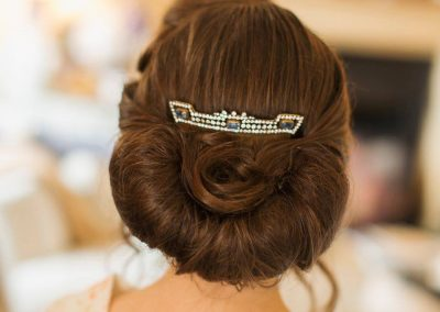 Vintage wedding hair at Lipstick Lashes and Locks