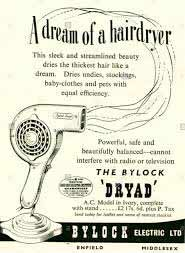 Retro Hairdryer Advert