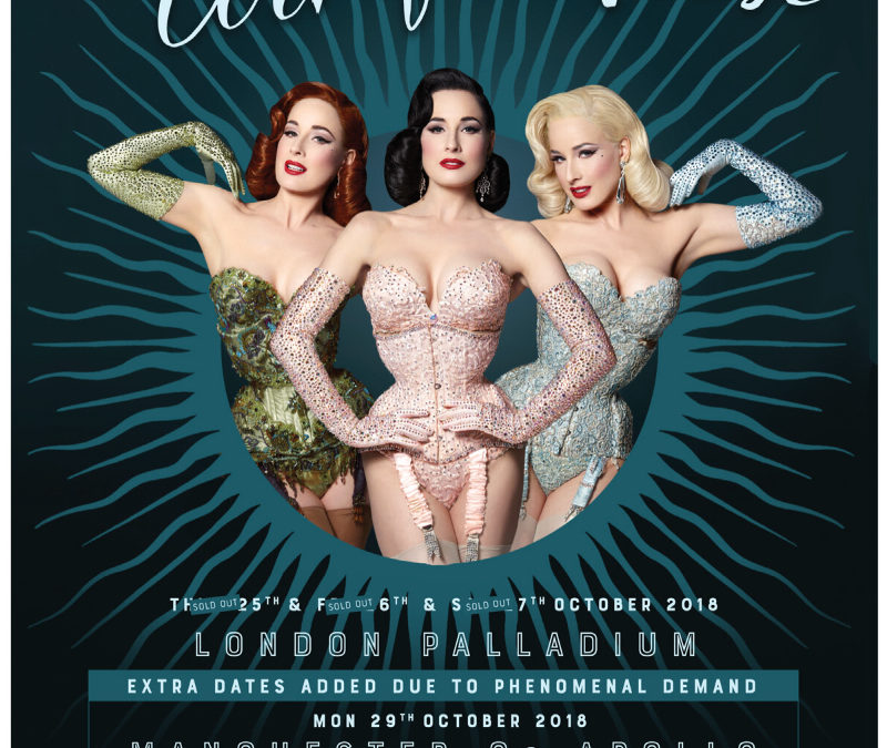 Dita Von Teese in Edinburgh!