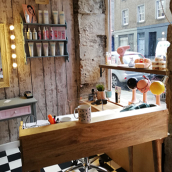 Lipstick Lashes & Locks Edinburgh Hairdresser