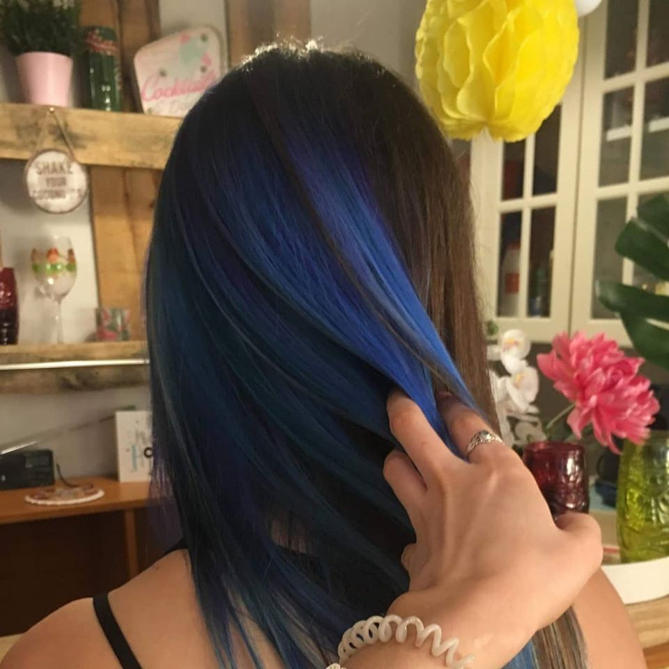 Styling and colour at Lipstick Lashes & Locks Hairdressers