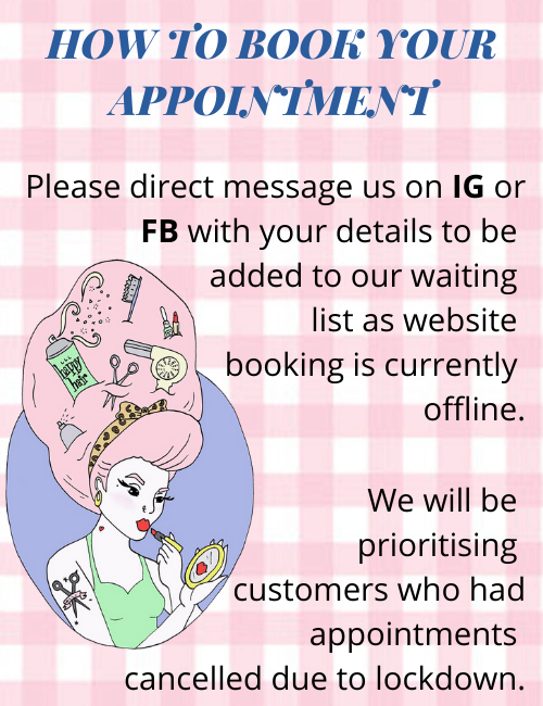 HOW TO BOOK YOUR APPOINTMENT